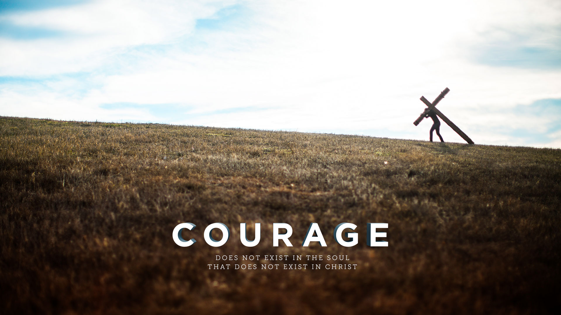 Wednesday Wallpaper Courage In Christ