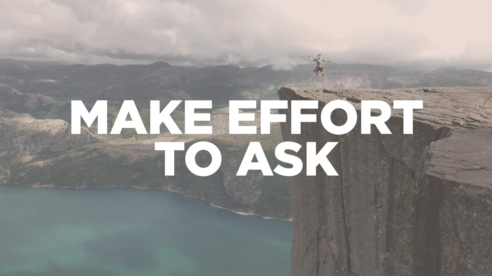 Attacking Goals: Make an Effort to Ask for Help - Jacob ...
