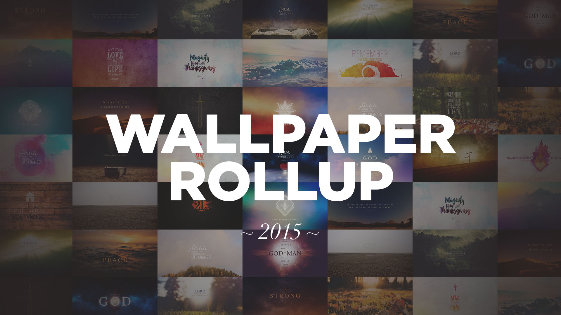 Wallpaper Rollup 2015 Jacob Abshire