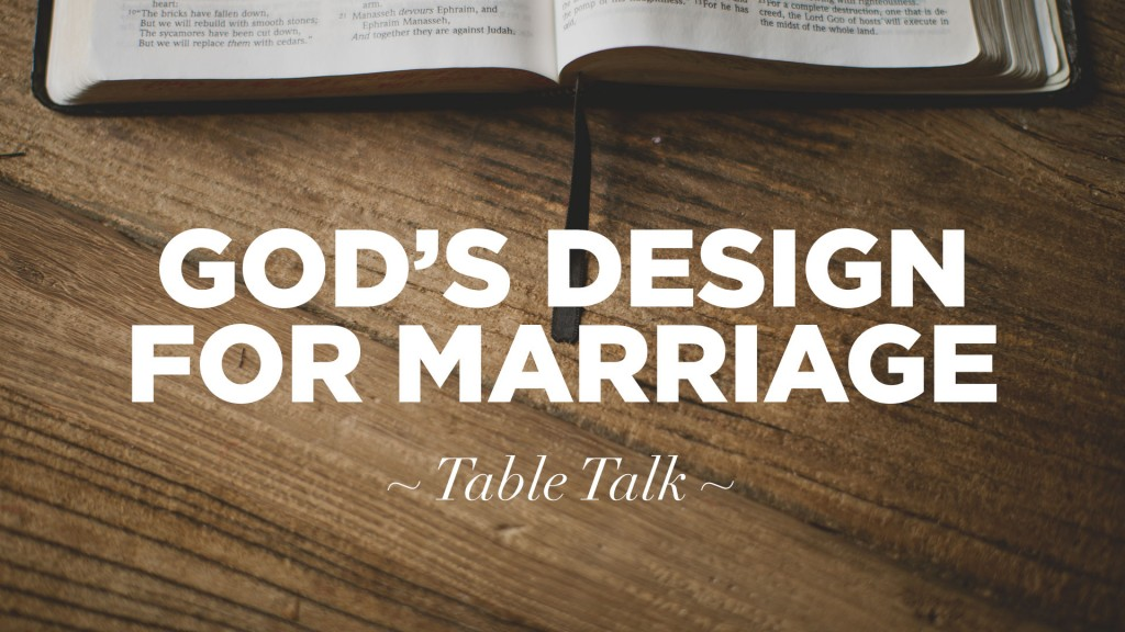 gods design for marriage bible While there are more than 500 references to marriage in the bible, these are the references that are followed most often by believers  we also discover that at the heart of god's design.