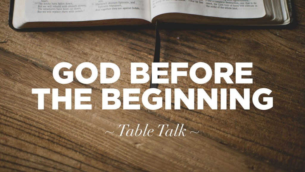 god-before-the-beginning